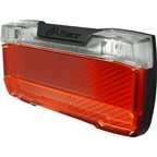 Herrmans H-Trace Dynamo LED Rear Light - Black/Red