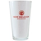 New Belgium Brewing Company Logo Pint Glass - Clear