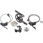 SRAM Force 1 Hydraulic Disc Brake Group 172.5mm GXP 42T X-Sync, 11-28 PG1170, No Rotors, No Bottom Bracket