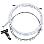 SRAM Stainless Mtn-Brake Cable/Casing Kit - White