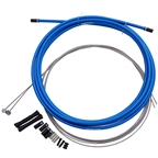 SRAM SlickWire Mtn-Brake Cable/Casing Kit Blue