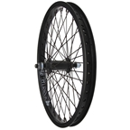 "Gusset Black Dog 20"" Front Wheel, 3/8"" 48h"