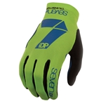 7iDP Transition Glove - Lime/Navy X-Large