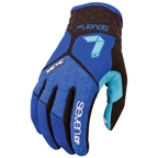 7iDP Tactic Glove - Navy Blue/Electric Blue
