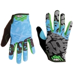 Answer Clash Glove - Green/Sky Blue/Gray