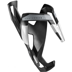 Elite Custom Race Plus Bottle Cage - Black Matte/White