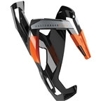 Elite Custom Race Plus Bottle Cage - Black Glossy/Orange