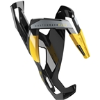 Elite Custom Race Plus Bottle Cage - Black Glossy/Yellow