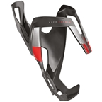 Elite Vico Carbon Bottle Cage - Matte Black/Red