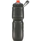 Polar Bottle Insulated Zipstream Bottle 24oz - Charcoal