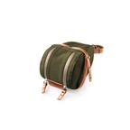 Brooks Isle Of Wight Saddle Bag - Large - Green/Honey