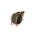 Brooks Isle Of Wight Saddle Bag - Medium - Green/Honey