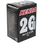"Kenda Butyl Tube 26 x 1.9-2.125"" 48mm Removable Valve"