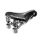 Brooks B190 Unisex - Black - Chrome Steel w/ Double Springs