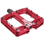Deity TMAC Pedals - Red Ano