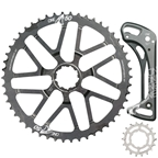 OneUp Components Shark Sprocket+Cage (11sp) 50T+18T - Grey