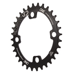 OneUp Components 94/96 Oval Chainring - 94/96BCD 32T - Black