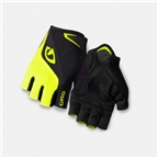 Giro Bravo Gel Gloves Black/Highlight Yellow