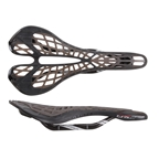 Tioga Spyder TwinTail 2 Saddle Carbon Rail - Black