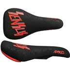 SDG Apollo I-Beam Cam Zink Sensus Saddle - Black/Red