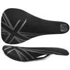 Gusset Black Jack Saddle - CrMo Rails - Black