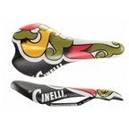Cinelli Araldo Crest Saddle - CrMo Rail