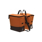 Blackburn Local Cooler Saddle Bag Panniers - Orange/Brown