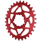 Absolute Black Spiderless GXP (Boost/3mm) DM Oval Chainring - 30T - Red