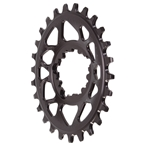 Absolute Black Spiderless GXP DM Oval Chainring - 26T - Black
