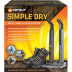 DryGuy Simple Dry Boot, Shoe, and Glove Dryer for 1 Pair