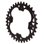 Absolute Black Sram 94BCD Oval Chainring - 34T - Black