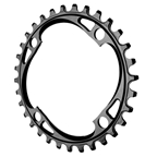 Absolute Black 104 Chainring - 104BCD 32T - Black