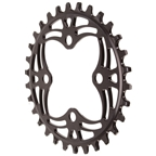 Absolute Black 104 Chainring - 64BCD 30T - Black