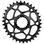 Absolute Black Cannondale Hollowgram DM Oval Ring - 30T - Black