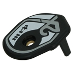 MRP 2X Lower Guide Pulley Cover - Black