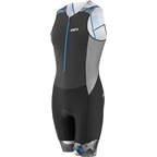 Louis Garneau Pro Carbon Men's Suit: Black/Curacao Blue