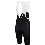 Louis Garneau Course Thermal Men's Bib: Black/Gray