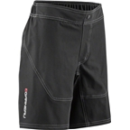 Louis Garneau Range Junior Short: Black