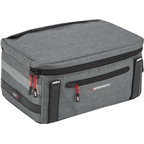 Louis Garneau Uptown Trunk Bag: Heather Gray 9 Liters