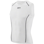 Louis Garneau Supra Sleeveless Base Layer Top: White