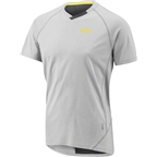 Louis Garneau HTO 2 Men's Jersey: Heather Gray/Asphalt