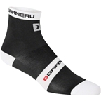 Louis Garneau Tuscan Sock: Black/White