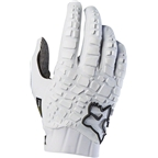 Fox Racing Sidewinder Men's Full Finger Glove: White/Black
