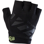 Fox Racing Ranger Gel Men's Short Finger Glove: Black