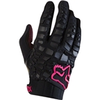 Fox Racing Sidewinder Women's Full Finger Glove: Black