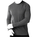 Smartwool PhD Ultra Light Men's Long Sleeve T-Shirt: Charcoal