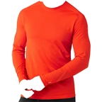 Smartwool PhD Ultra Light Men's Long Sleeve T-Shirt: Bright Orange
