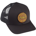 Surly Utility Trucker Flexfit Cap: Black, One Size