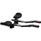 Profile Design T2 Plus Carbon Aerobar with J5 Bracket and F-40TT Armrest - Black