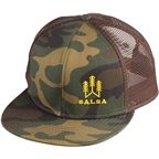 Salsa Camo Tree Cap: Green One Size